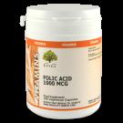 Folic Acid 1000mcg - 100 Caps