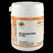 Betacarotene 15mg