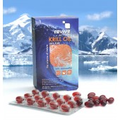 Krill Oil  - 60 Capsules - Contain astaxanthin, for reducing inflammation, and exist in the superior phospholipid form.